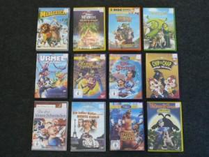 DVDs für die Kleinen
