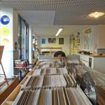 poptanke großes Angebot an Schallplatten im Laden in der Bremer Straße