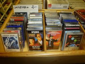 Neu: Musik-Cassetten in der Poptanke