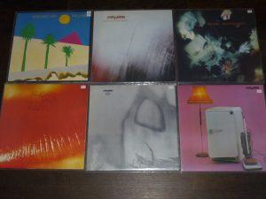 die frühen Cure Alben auf Vinyl